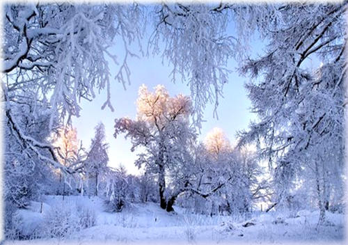 зима снежинки лирические стихи